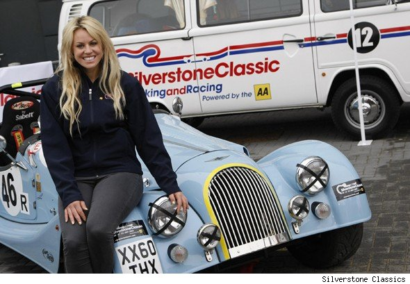 Stars Line Up For Celeb Race At Silverstone Aol Uk Cars