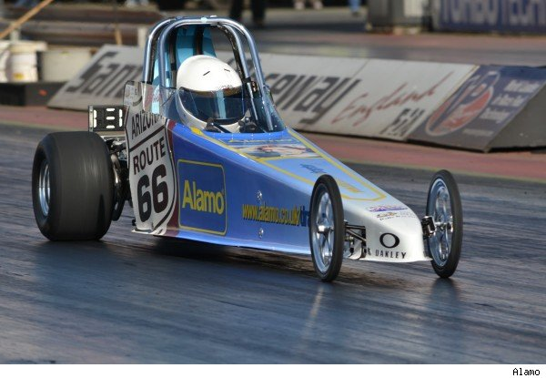 UK drag racer competes in the US - and she's 13 - AOL