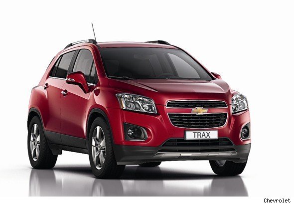 chevrolet unveils trax small suv - aol