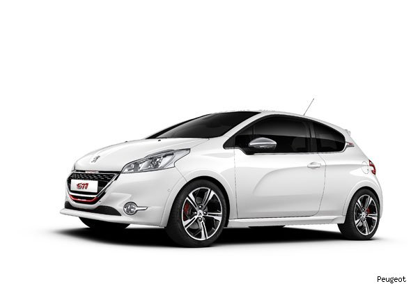 Peugeot creates 208 GTi Limited Edition