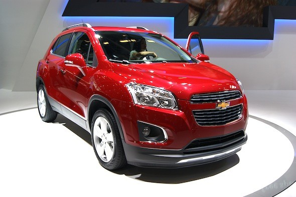 Chevy debuts Trax compact SUV
