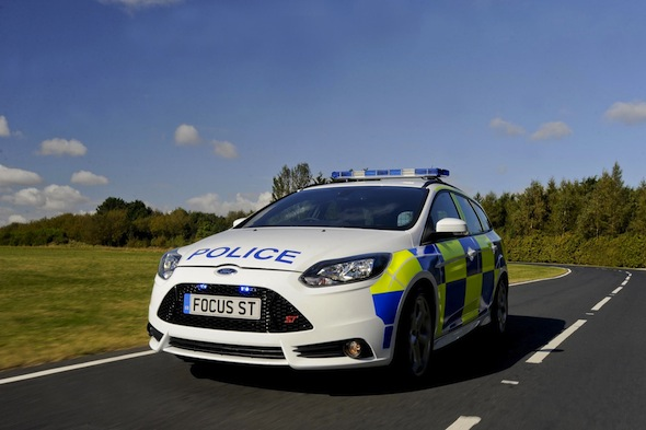 Ford Focus ST police car