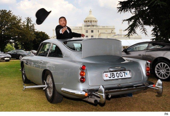 Top five James Bond cars