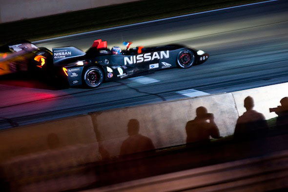 Nissan DeltaWing survives unscathed