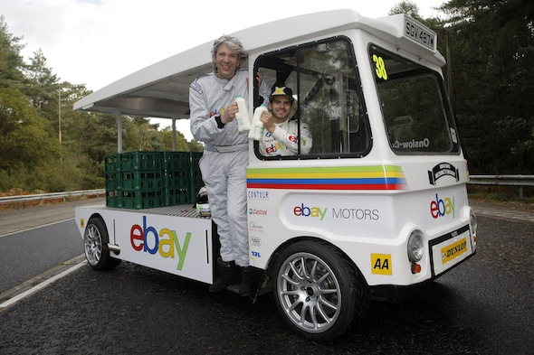 Sorry Ernie - but this is the fastest milk float in the world