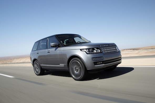 First drive: New Range Rover