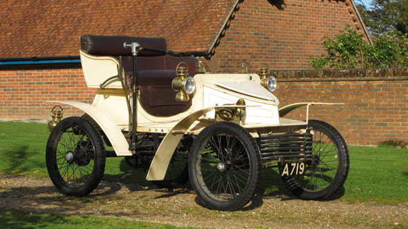 The world's oldest known surviving Vauxhall