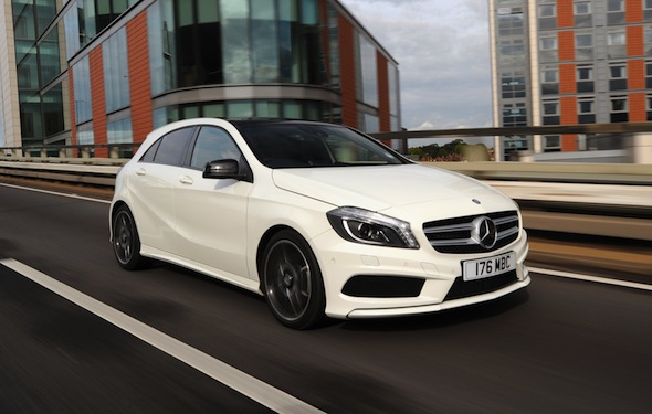 First drive review mercedes benz a class aol uk cars for Is a mercedes benz a good car