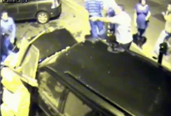 Video: Drunk driver ploughs into pub at 60mph