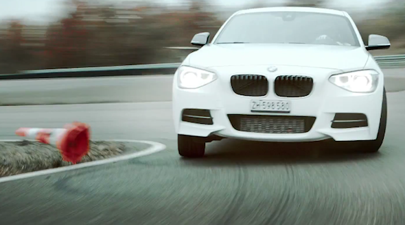 Video Bmw S Fastest Christmas Song In The World Aol