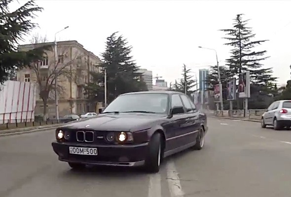 Video: Georgian drifter impresses; a