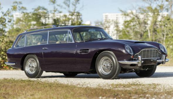 Rare Aston Martin estate appears in US auction