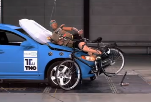 External Airbags To Save Cyclists Could Feature On Future Cars