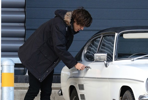 One Direction's Harry Styles adds classis Ford Capri to car collection