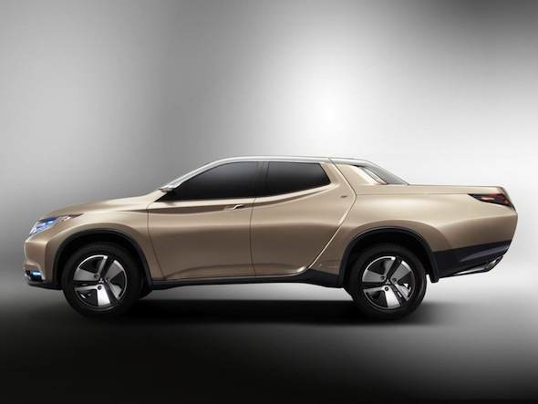 Mitsubishi unveils its answer to fuel-efficient pick-up trucks