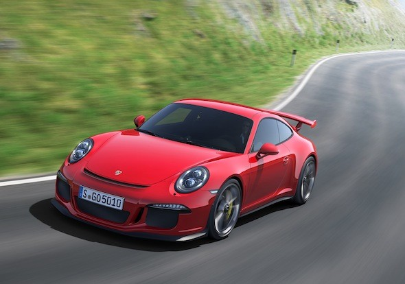 Porsche celebrates 50th anniversary with track-hardened 911 GT3