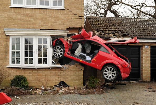 Driver of infamous 'flying Audi' faces drink-driving charges