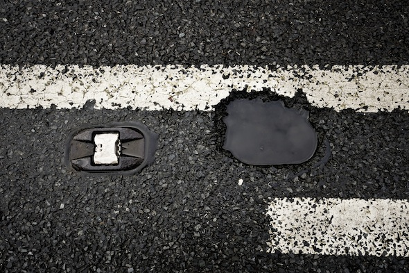 Pothole damage three times more likely in the North