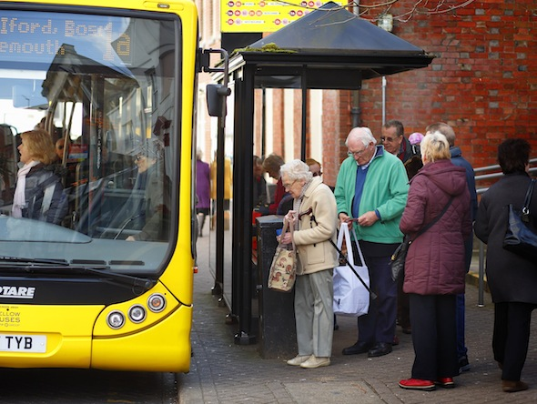 Poor public transport could be isolating the elderly