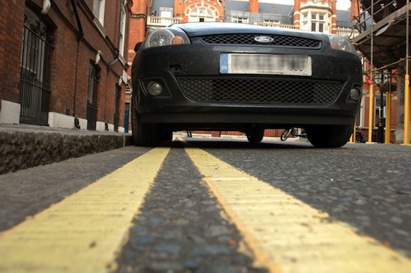 'Van-sitters' employed to avoid London parking charges