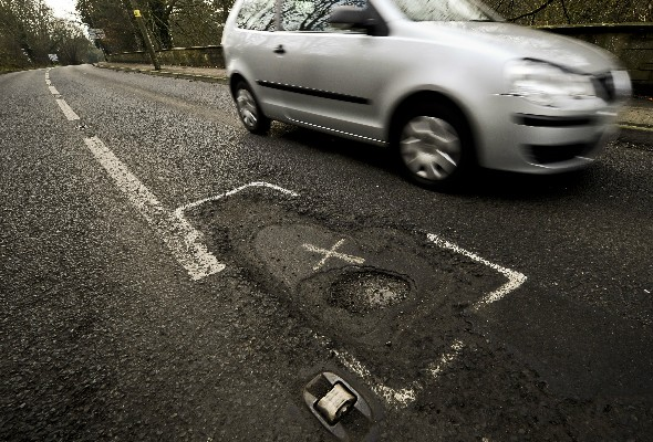 'Cut royal family to pay for potholes'