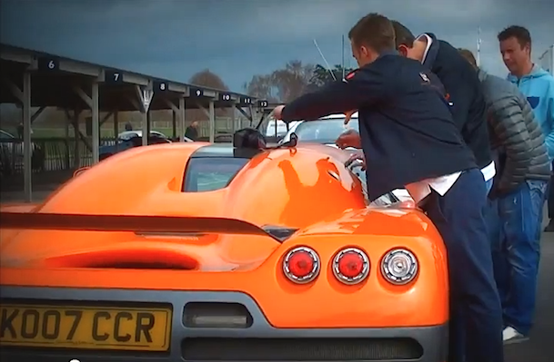 Video: Embarrassed Koenigsegg owner locks keys inside supercar