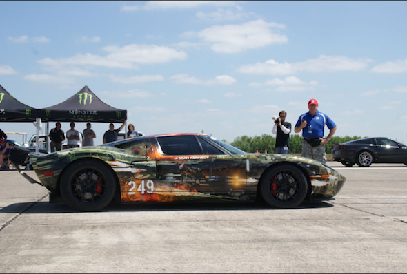 Video: Hennessey GT reaches 267.6mph in just one mile