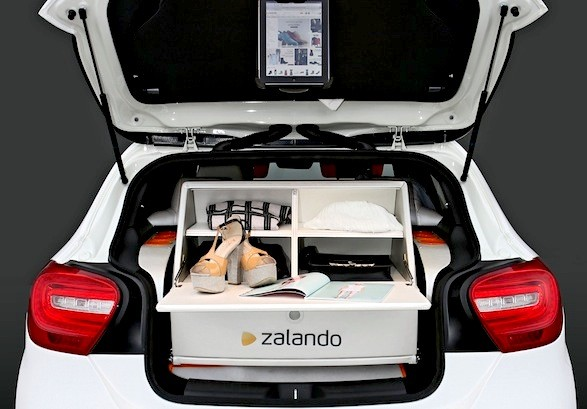 Stylish ride: New car takes the pain out of clothes shopping