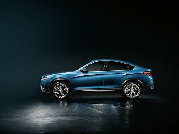 BMW Concept X4 unveiled