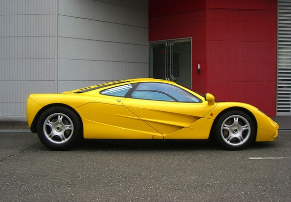 Ultra rare and untouched McLaren F1 unearthed in Japan