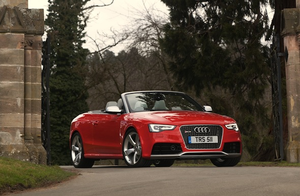 First drive: Audi RS 5 Cabriolet