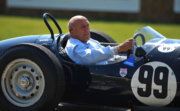 Sir Stirling Moss says women don't have the mental strength for Formula 1