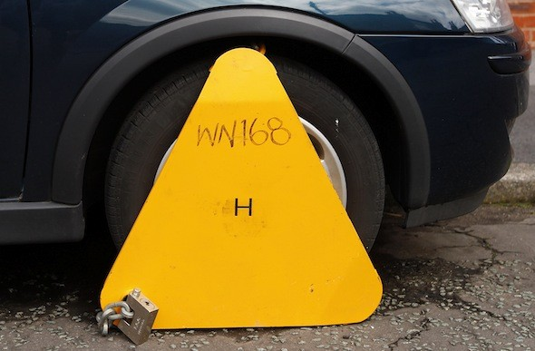 Out of Irish luck: Dublin driver clamped 63 times in four years