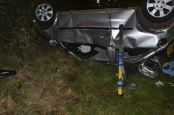 Teen drink-driver causes 100mph fatal crash