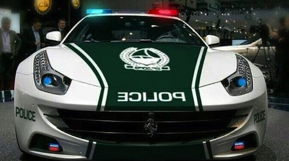 Dubai police force further strengthens fleet with Ferrari FF