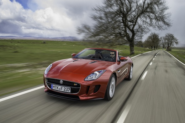 First drive: Jaguar F-Type