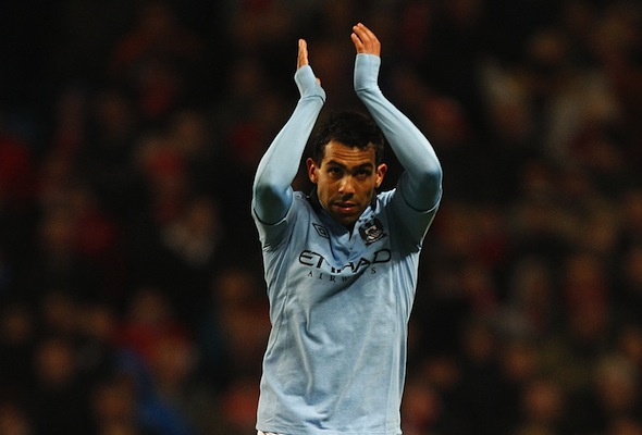 Football ace Carlos Tevez convicted of driving while disqualified
