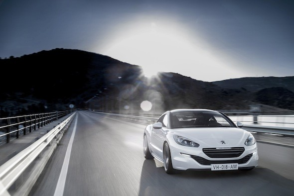 road test peugeot rcz aol. Black Bedroom Furniture Sets. Home Design Ideas