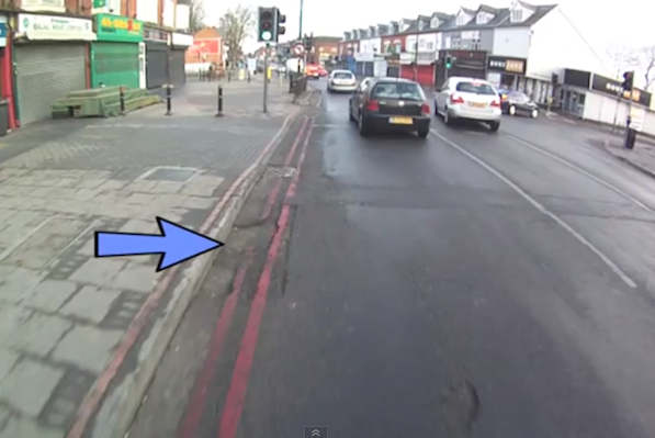 Cyclist comes up with innovative way of reporting potholes