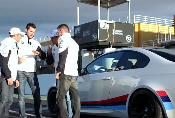 VIDEO: Four DTM drivers and a BMW M3