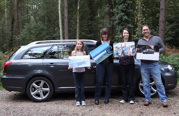 Family drives 5,000 miles each year for summer holiday