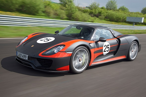 Porsche 918 Spyder: The full details