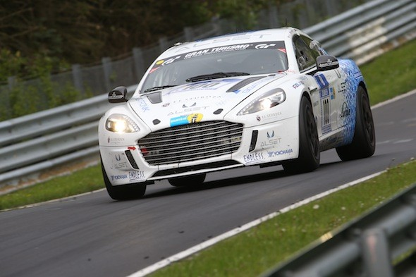 Aston Martin makes history with hydrogen powered Rapide S