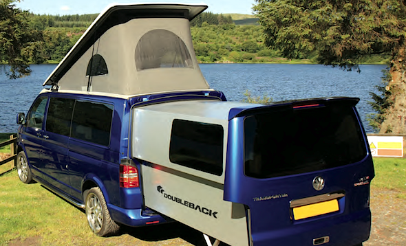 Meet the Trasnformer campervan
