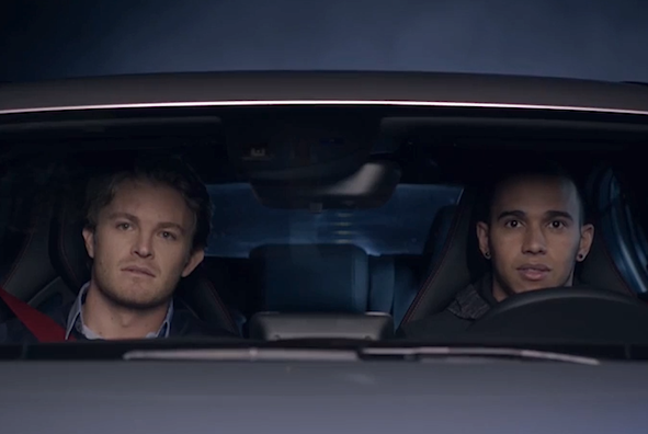 Lewis Hamilton stars in new Mercedes A 45 AMG advert