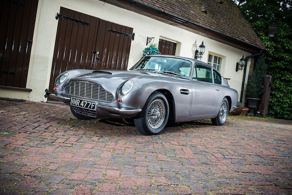 Ex-Des O'Connor Aston Martin set to fetch £100k at auction
