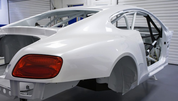Bentley's first racer for a decade is almost ready
