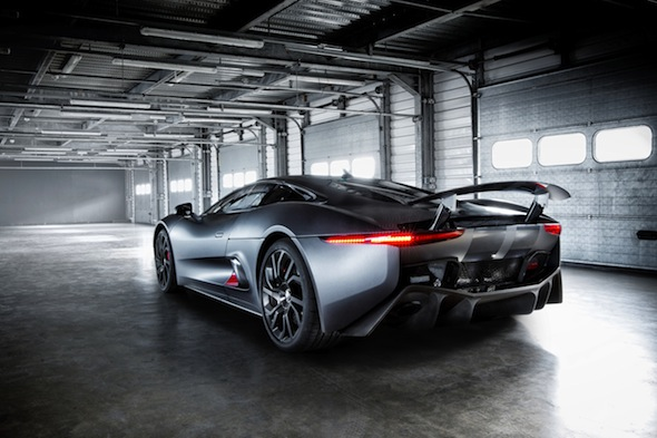 Video: Jaguar C-X75 prototype