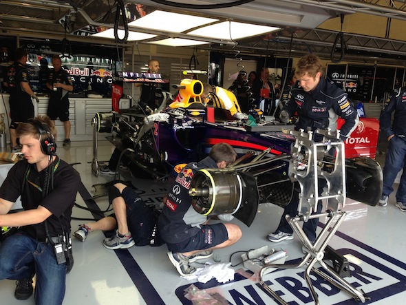 Exclusive: Behind the scenes with Red Bull Racing