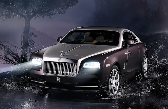 Video: Behind the wheel of the new Rolls-Royce Wraith